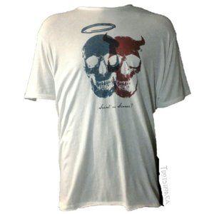 John Varvatos Star USA Saint or Sinner shirt XXL